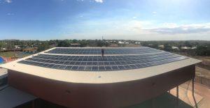 Recreation Centre Solar Panels Complete Oct 17