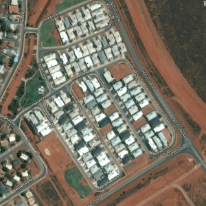 Aerial View Of BHP Residential Housing Project