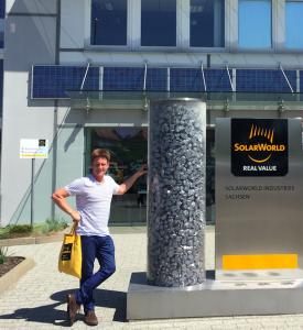 Sean Scanlon At SolarWorld HQ Friedburg Germany